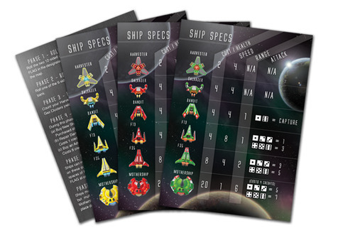 Player reference cards