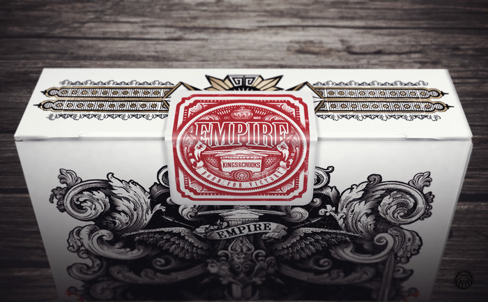 Highly Detailed, Custom Empire Deck Seal - Click to enlarge