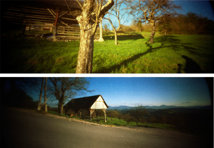 Shot with the ONDU 135 Panoramic Pinhole camera