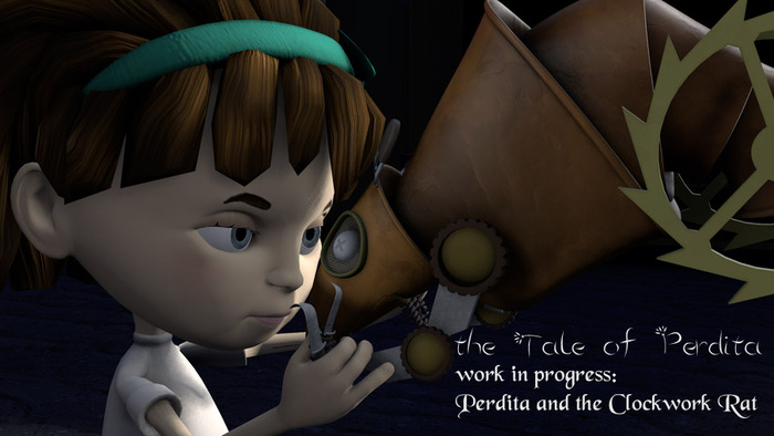 Perdita and the Clockwork Rat