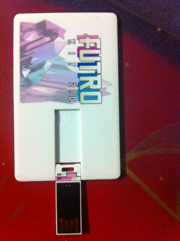Futro Kit 2.0 2 GB USB Card without packaging