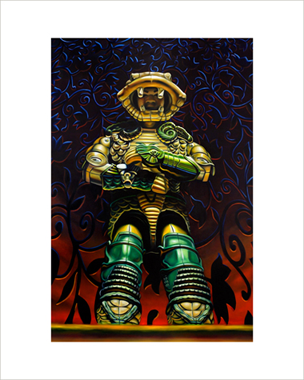 """Serpentor"" 16""x20"" limited edition giclée print"