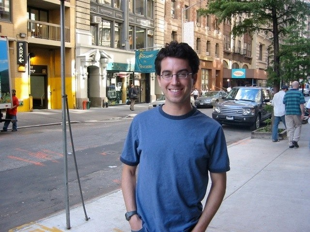 Lunch with author Jonathan Safran Foer in Brooklyn, New York