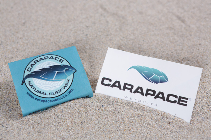 Carapace Sticker and Wax