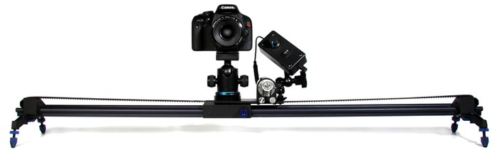 Motorized camera dolly for 300 Motorized video slider