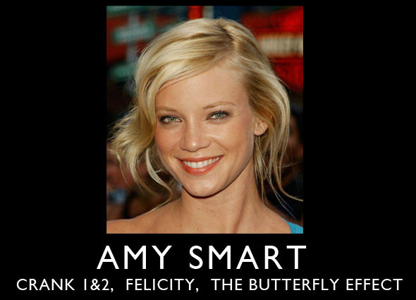 "Starring Amy Smart as ""The Mom"""
