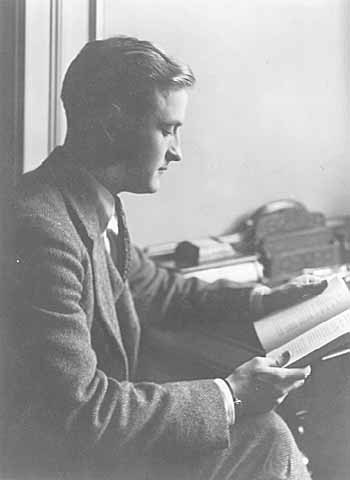 F. Scott Fitzgerald in 1920