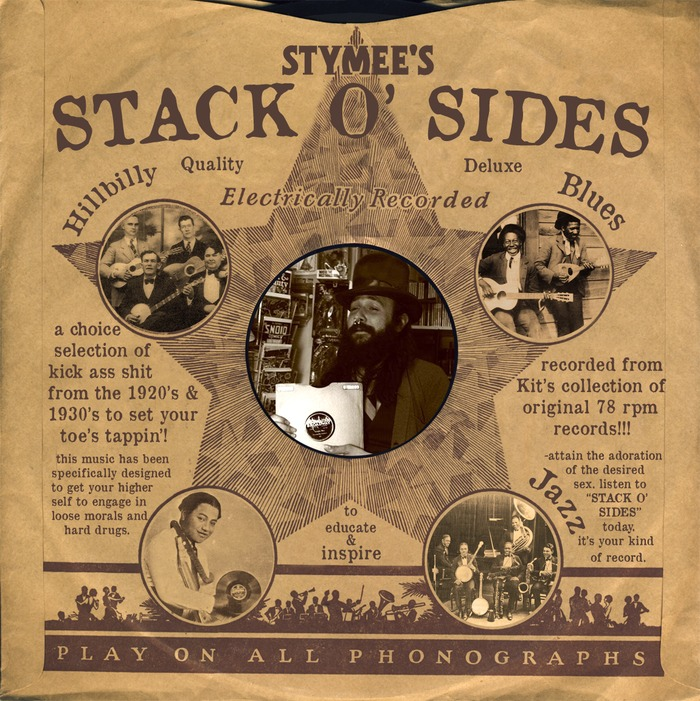 Stack O' sides... made from kits collection of 78 rpm records