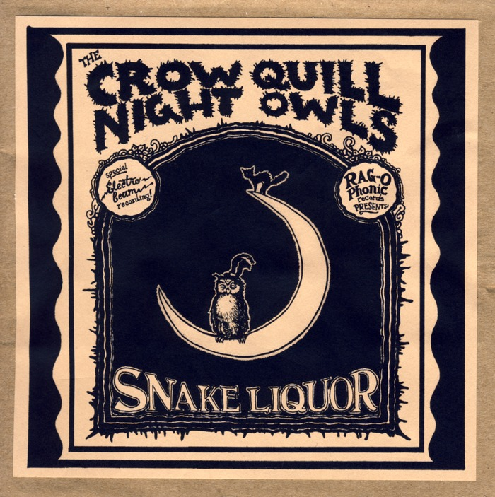 Snake Liquor, recorded reel to reel so it's reeeeeellly good! made in  2010!