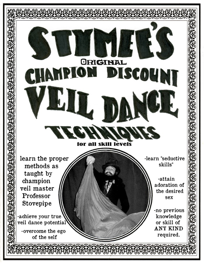 Twist the Night away with this instructional booklet! Impress your friends learn to veil dance!