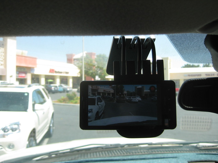Did you ever wish you had a video camera to record a reckless driver like police officers can?
