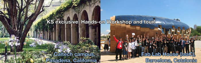 A subset of our campaign rewards include the opportunity to participate in a Hands-on workshop and tour!
