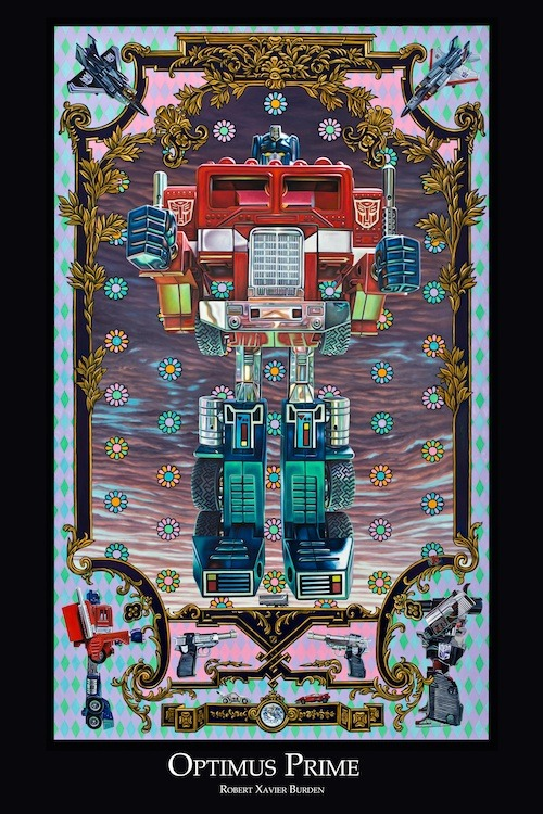 "Optimus Prime poster (available in 12""x18"", 24""x36"" and HUGE 36""x48"")"