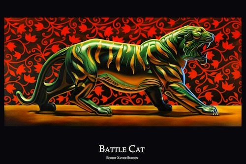 "Battle Cat Poster (available in 12""x18"" only)"