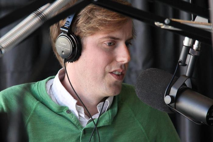 Andrew McMahon from Jack's Mannequin in-studio