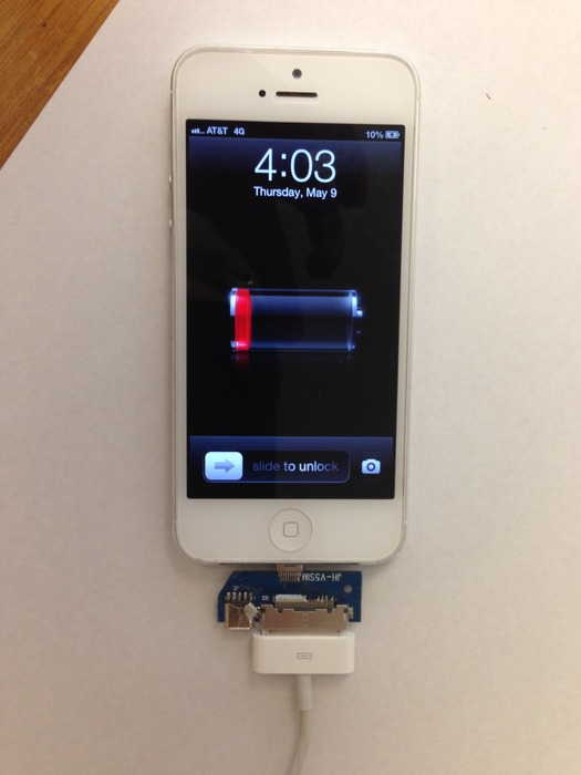 Proof of Concept-iPhone charging