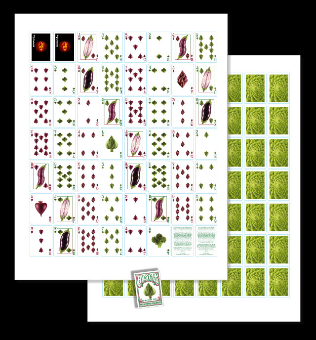 E8 Garden Deck Uncut Sheet