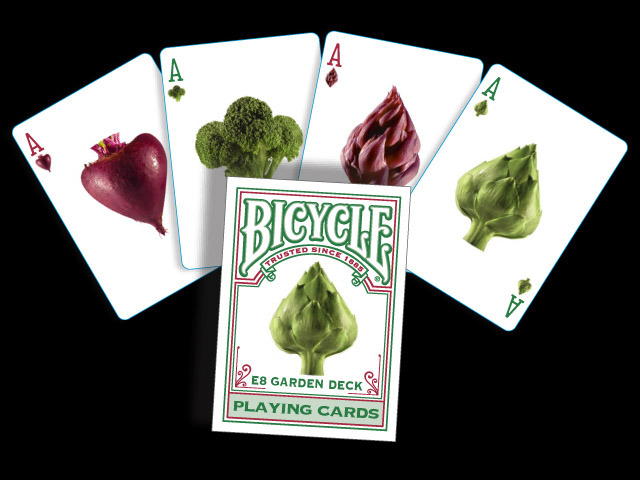 E8 Garden Deck Bicycle® Playing Cards