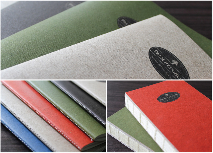 Softcover Notebooks and Hardcover Journal prototypes