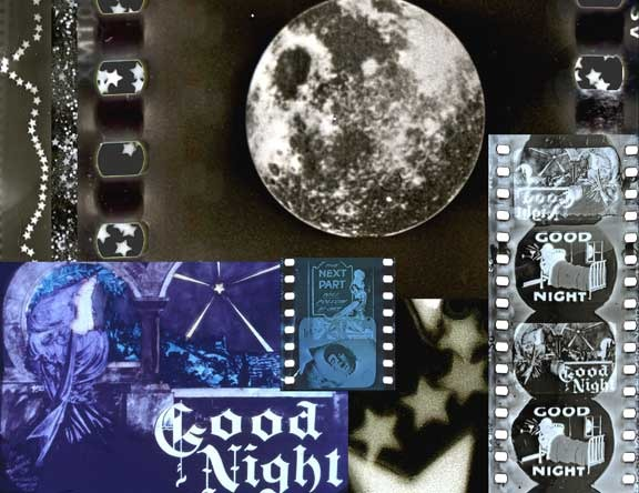 "Collage made from images from the Muse of Cinema-2004, ""GoodNight"""