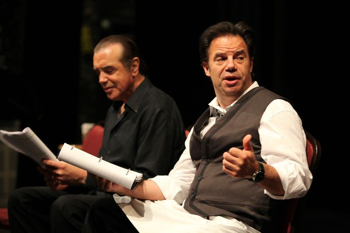 Chazz Palminteir (SAL SICUSO) and Kenny D'Aquila (GINO SICUSO)