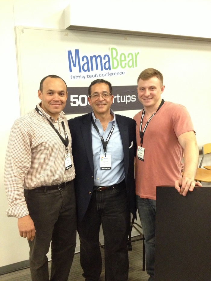 King, Glenn, and Adam at the Mama Bear 2013 Family Tech Conference, May 10, 2013