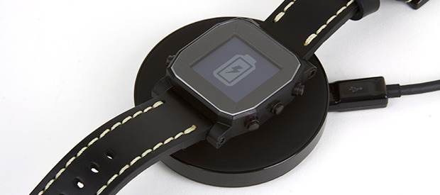 Laden der Agent Smartwatch