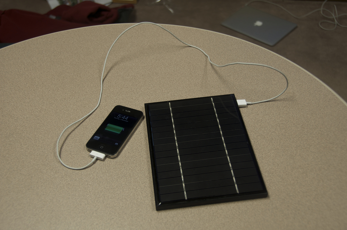 Keep your devices charged, even indoors