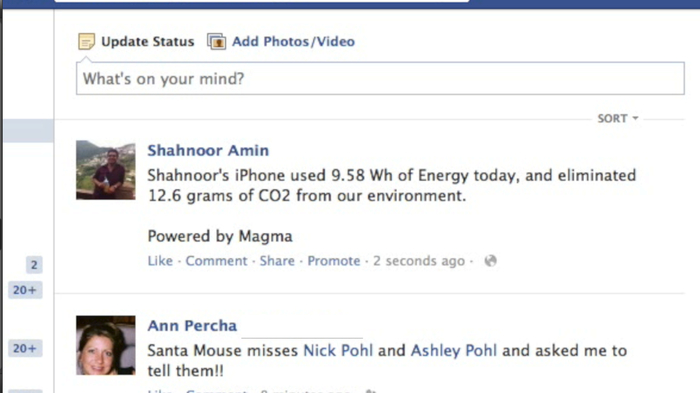 Share your energy usage w/ Facebook (if you want)