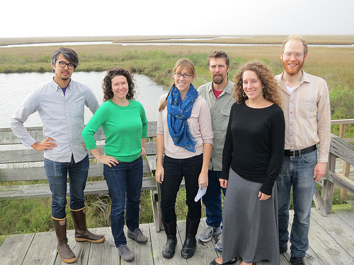 Public Lab Staff in Cocodrie, LA--January 2013