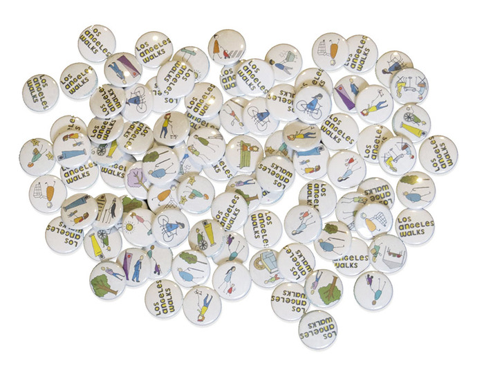 A set of buttons designed by Colleen Corcoran...