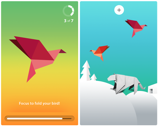 Better focus lets you fold origami faster and complete more complex creatures.