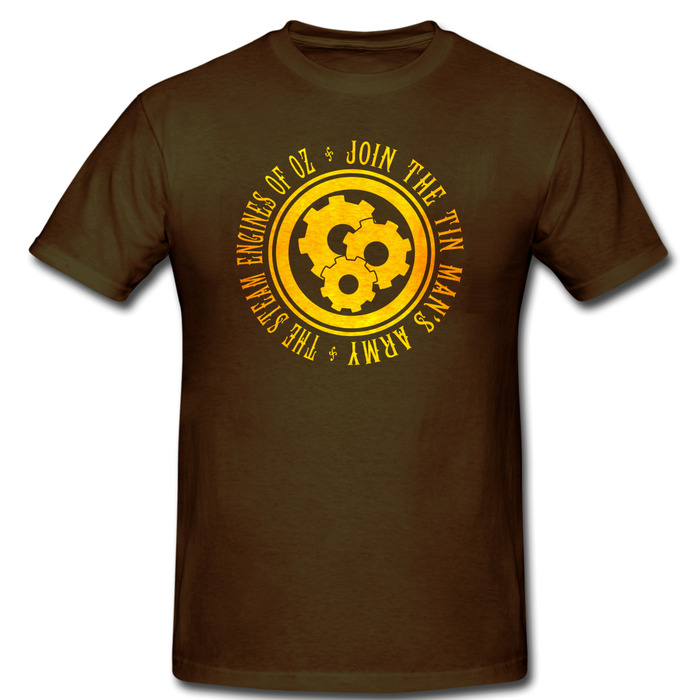 Join the Tin Man's Army Shirt in Brown