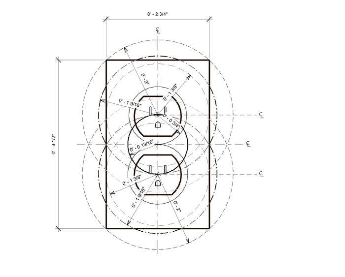 Electrical Outlet Box Dimensions Engine Diagram And