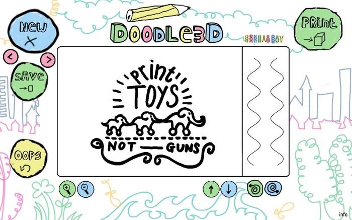 Doodle3D - Print Toys Not Guns