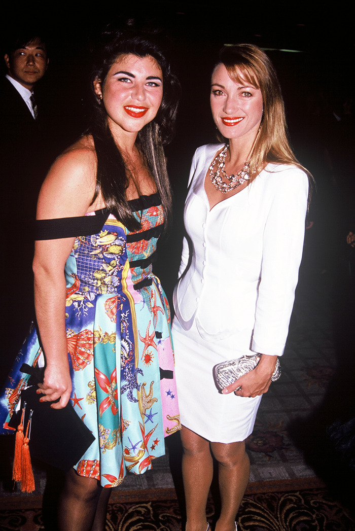 Carolyn Mahboubi (left); Jane Seymour (right)