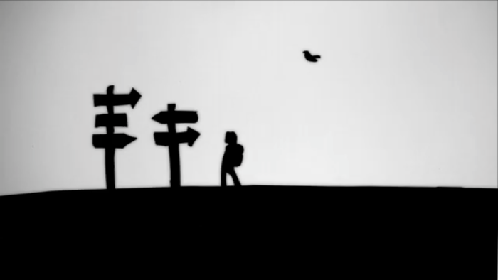 """A journey that forced me to stand in silence in each area I passed, listening to those deep voices that had been muzzled and shoved away."" Animation by Patrick Smith"
