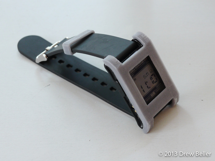 Max Design in Grey with matching Watch Band Loop