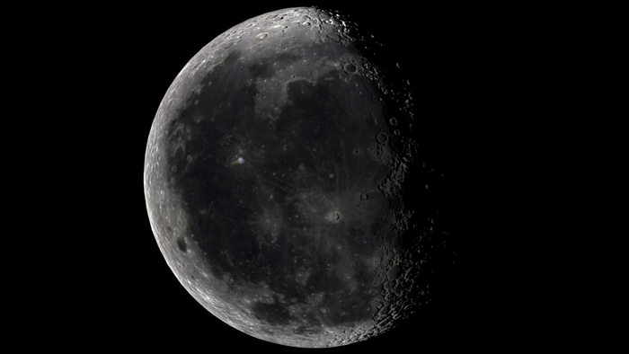 Test render of our Moon model.