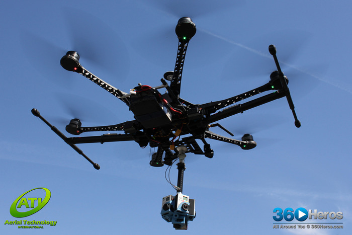 Partnering Company Aerial Technology International (Portland, Oregon) flying the H3Pro6N