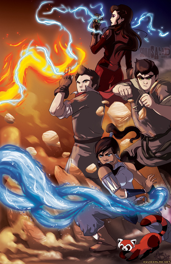 The Legend of Korra: Team Avatar