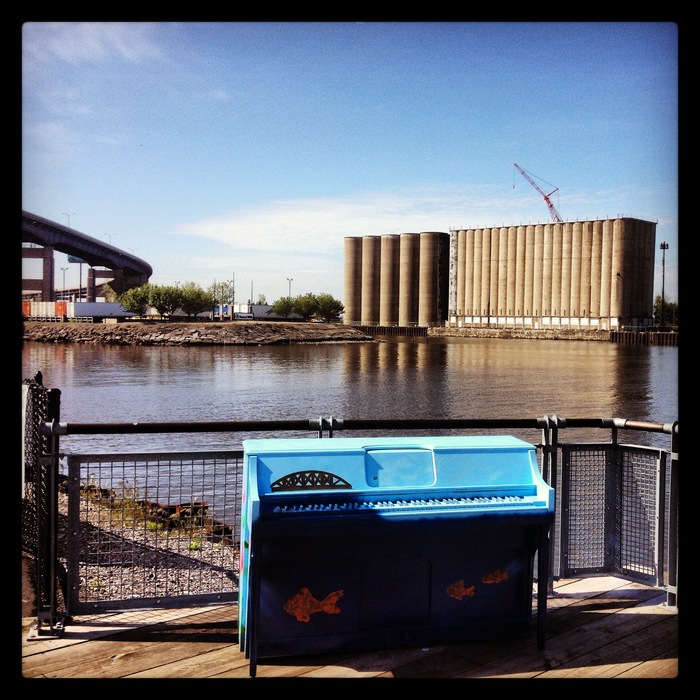 Piano #1 has been placed at Canalside! With your financial support, more pianos can be placed in public, in Buffalo, this summer.