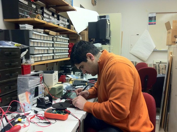 Back at home, the journey to perfection: Soldering together more prototypes...wow, it's been 7 months already?