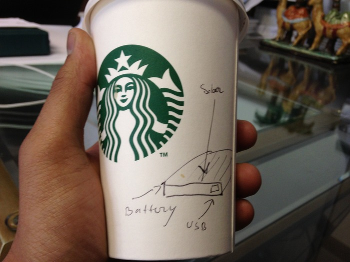 Infancy of an Innovation: What started out as a simple concept over a Starbucks coffee discussion...