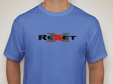 ReSet Limited Edition T-Shirt ($50. donation level)