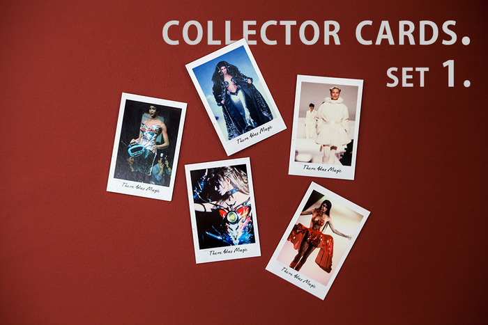 Set 1 of film collector cards