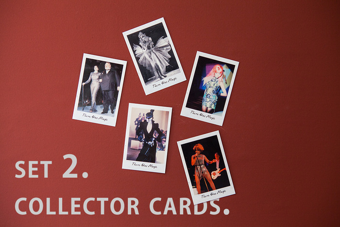 The second set of collector cards