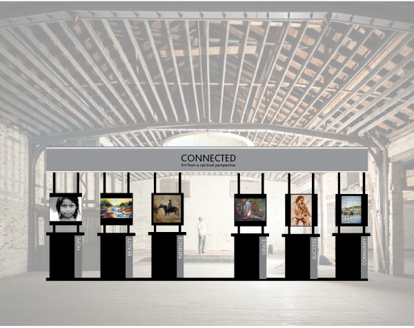 The EXHIBIT...See us at ArtPrize 2013...The Harris Building Venue