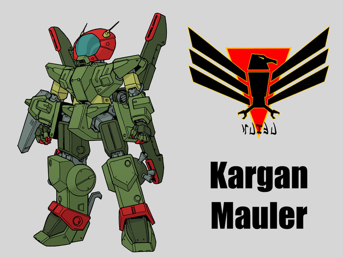 The Kargan Mauler by: Mark Simmons