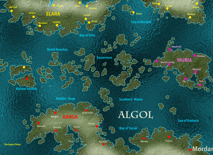 The Map of Algol